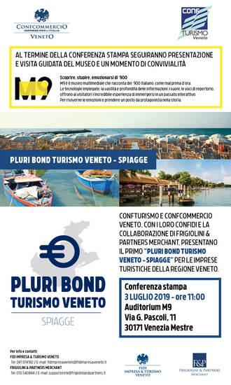PLURI BOND TURISMO VENETO - SPIAGGE - Mestre, 3 luglio 2019