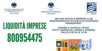 """800 954 475 - Numero Verde """"Liquidità Imprese"""""""